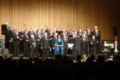 Marina Salonen med NM-kören 30 årskonsert
