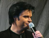 Henrik Åberg inför Elviskonserten
